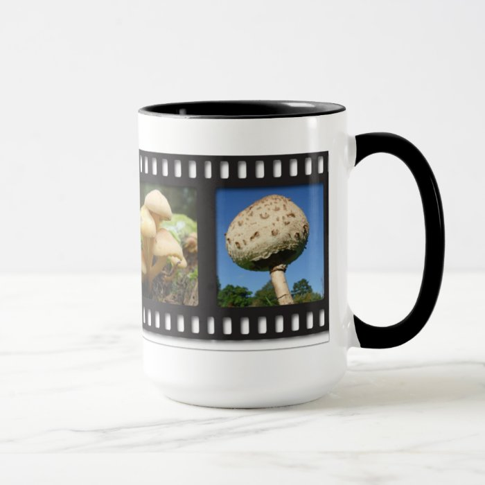 Fungi filmstrip mug