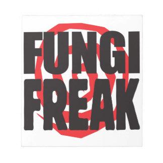 Fungi Freak Memo Note Pads