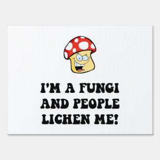 Fungi Lichen Sign