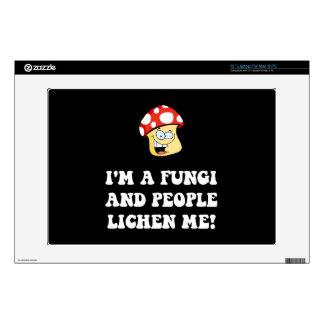 Fungi Lichen Skin For Laptop