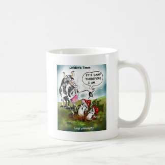 Fungi Philosophy Funny Gifts Tees & Collectibles Coffee Mug