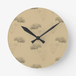 fungi round clock