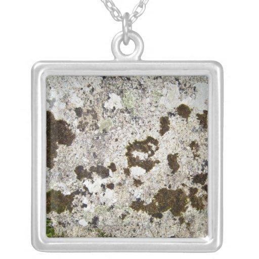 Fungi Texture on Mountain Rock Necklaces