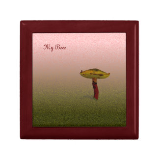Fungus Art (add your text) Gift Box