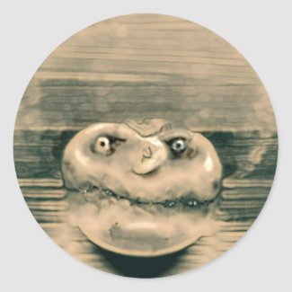 Fungus head sticker