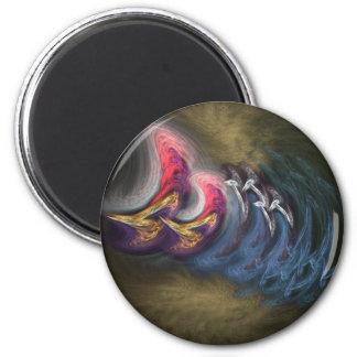 Fungus Round Magnet