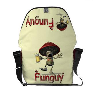 Funguy Mushroom Courier Bag