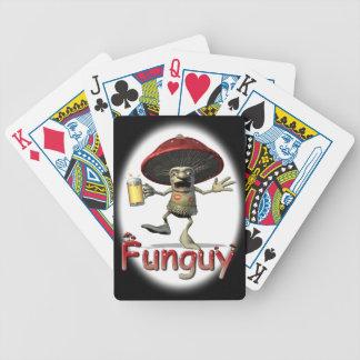 Funguy Mushroom Playing Cards