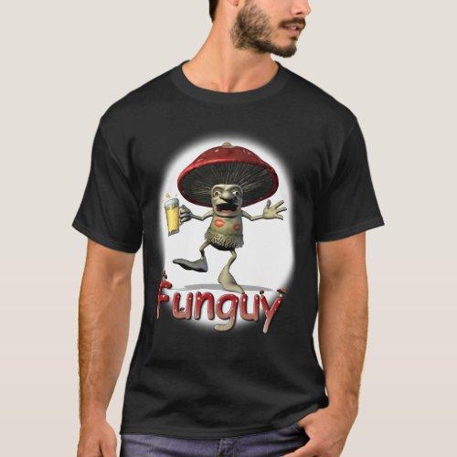 Funguy Mushroom T_Shirt dark