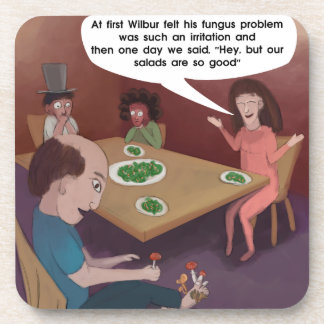 FunGuy ToedStools For Dinner Funny Coaster