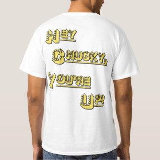 FUNHOUS3 - ¡Ey Chucky! ¡Usted está para arriba! El Remera
