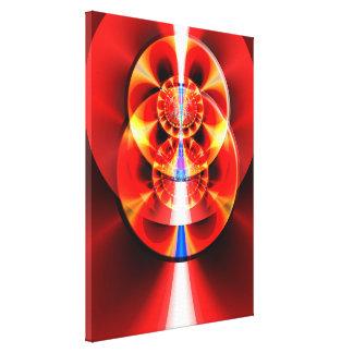 Funhouse Mirrors & CD Roms Canvas Print