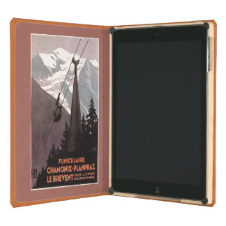 Funiculaire Le Brevent Cable Car Poster Case For iPad Air