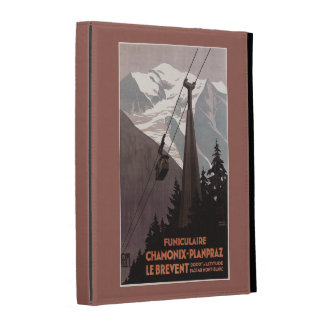 Funiculaire Le Brevent Cable Car Poster iPad Folio Case