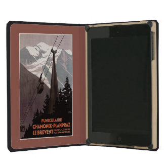 Funiculaire Le Brevent Cable Car Poster iPad Mini Cover