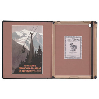 Funiculaire Le Brevent Cable Car Poster Cases For iPad