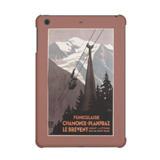 Funiculaire Le Brevent Cable Car Poster iPad Mini Case