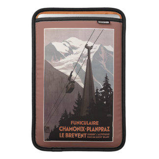 Funiculaire Le Brevent Cable Car Poster MacBook Sleeve