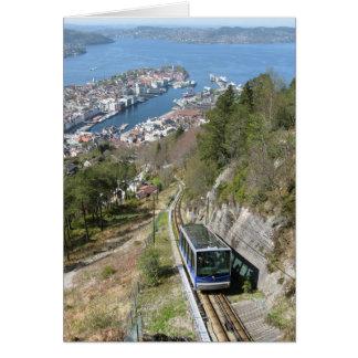 Funicular in Bergen Card