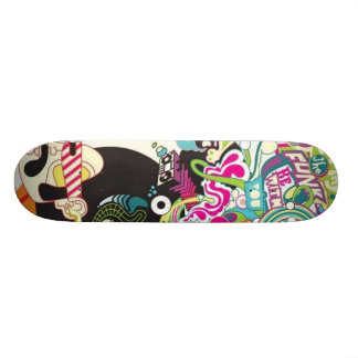 Funk Be with You Skateboard Deck