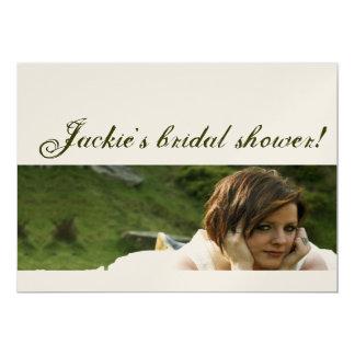 Funk Bridal Shower Invitation
