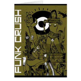 Funk Crush Greeting Card