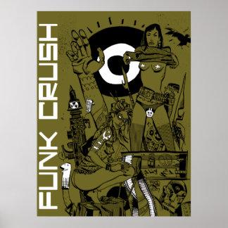 Funk Crush Print/Poster Poster