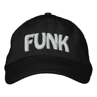 FUNK EMBROIDERED BASEBALL HAT