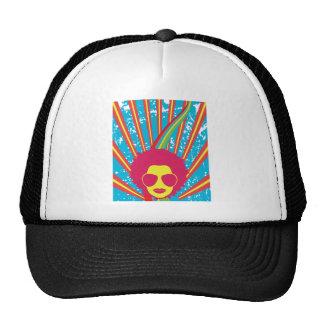 Funk Funky Disco Queen 80s 1980s Retro Hats