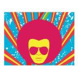 Funk ~ Funky Soul Disco Man Postcard