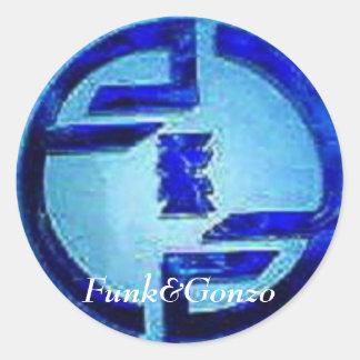Funk&Gonzo Sticker