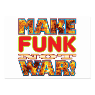 Funk Make X Large Business Cards (Pack Of 100)