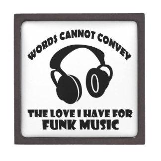Funk Music designs Jewelry Box