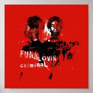 Funk Music Poster