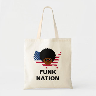 Funk Nation: The United States of Funk Budget Tote Bag