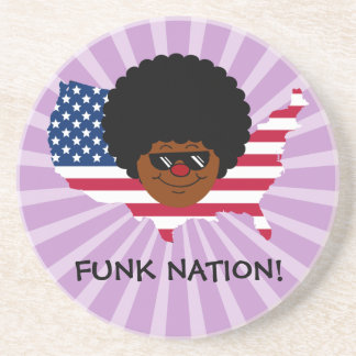 Funk Nation: The United States of Funk Beverage Coasters