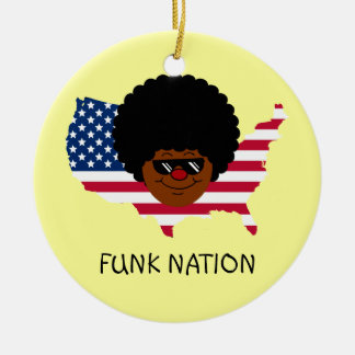 Funk Nation: The United States of Funk Christmas Tree Ornaments