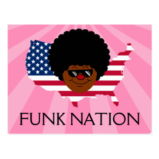 Funk Nation: The United States of Funk Postcard
