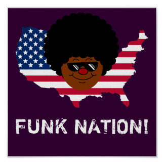 Funk Nation: The United States of Funk Print