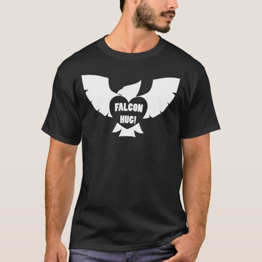 Funk Sandwich Falcon Hug Dark T-Shirt