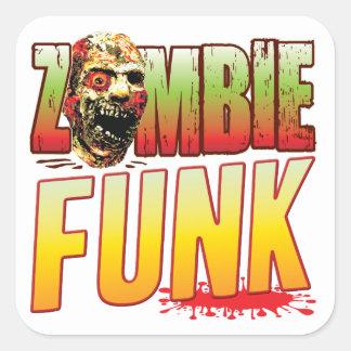 Funk Zombie Head Sticker