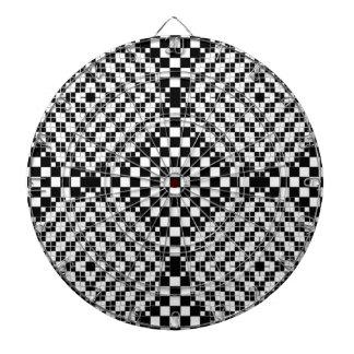Funkadelic Hippy Bar Pub Dart Board Checkered