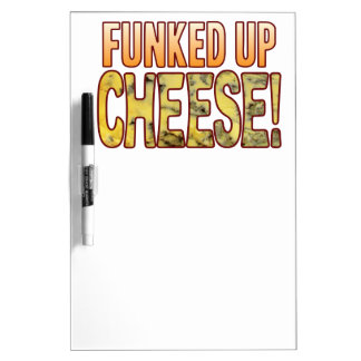 Funked Up Blue Cheese Dry-Erase Board