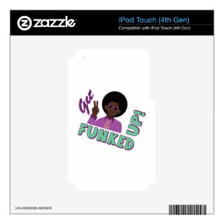 Funked Up iPod Touch 4G Skins