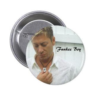 Funkee Boy Pinback Button
