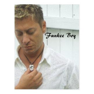 Funkee Boy Postcard