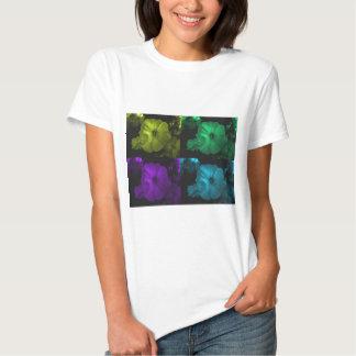 funkle abstract petunia flowers.jpg T-Shirt