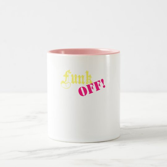 funkoff Two-Tone coffee mug