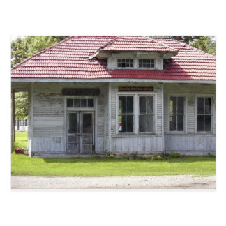Funks Grove Depot Postcard