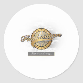 Funkwagon Classic Round Sticker